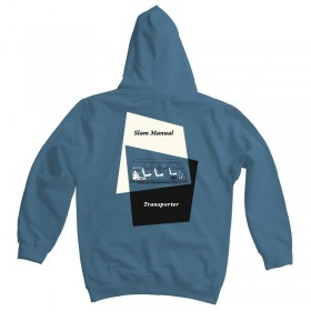 Splitscreen Bus Slam Manual Hoodie
