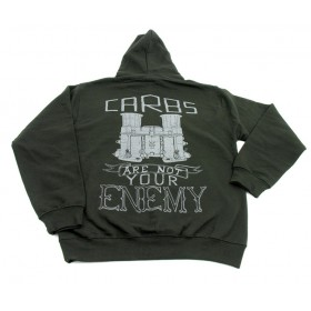 Carbs are Not Your Enemy Hoodie
