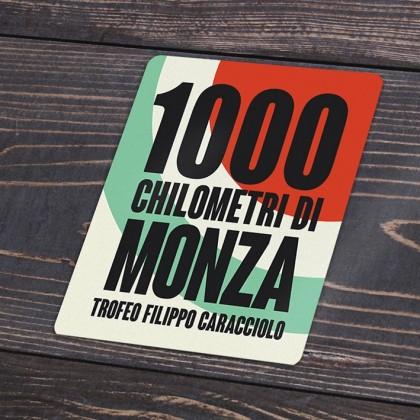 1000km Chilometri Monza Decal