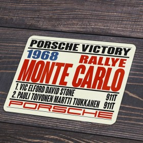 1968 Monte Carlo Victory decal