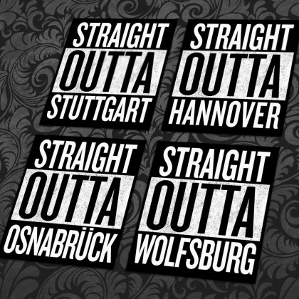 Straight Outta Sticker