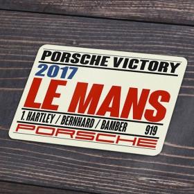 2017 Le Mans Porsche Victory decal