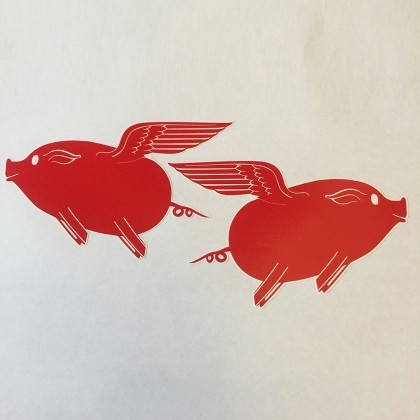 Porkasus Stickers