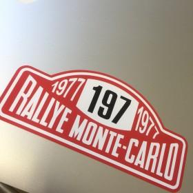 1977 Rallye Monte Carlo Sticker