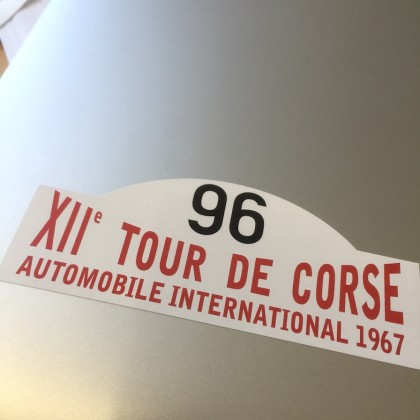 XII Tour De Corse Sticker