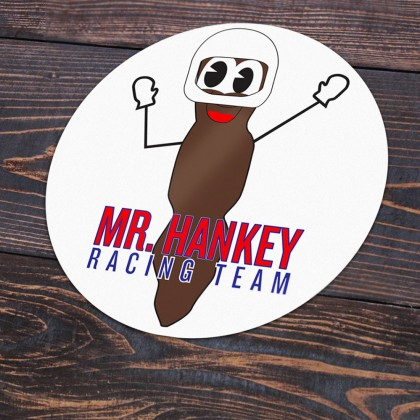 Mr Hankey Racing Team Sticker