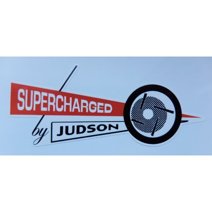 Supercharged by Judson Sticker