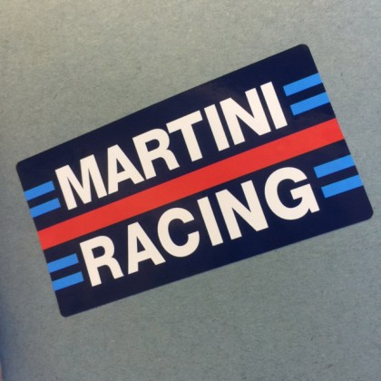 Martini Racing Sticker