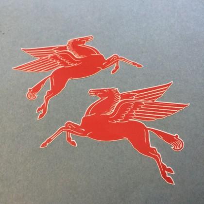 Mobil Pegasus Stickers