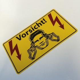 Vorsicht Sticker